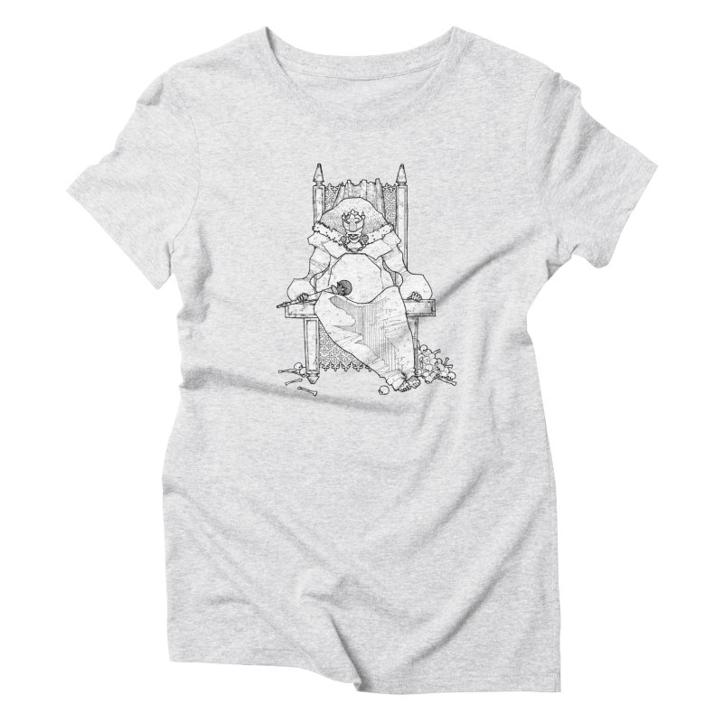 Fat King Women's T-Shirt by Katiecrimespree's Ye Olde Shirt Shoppe
