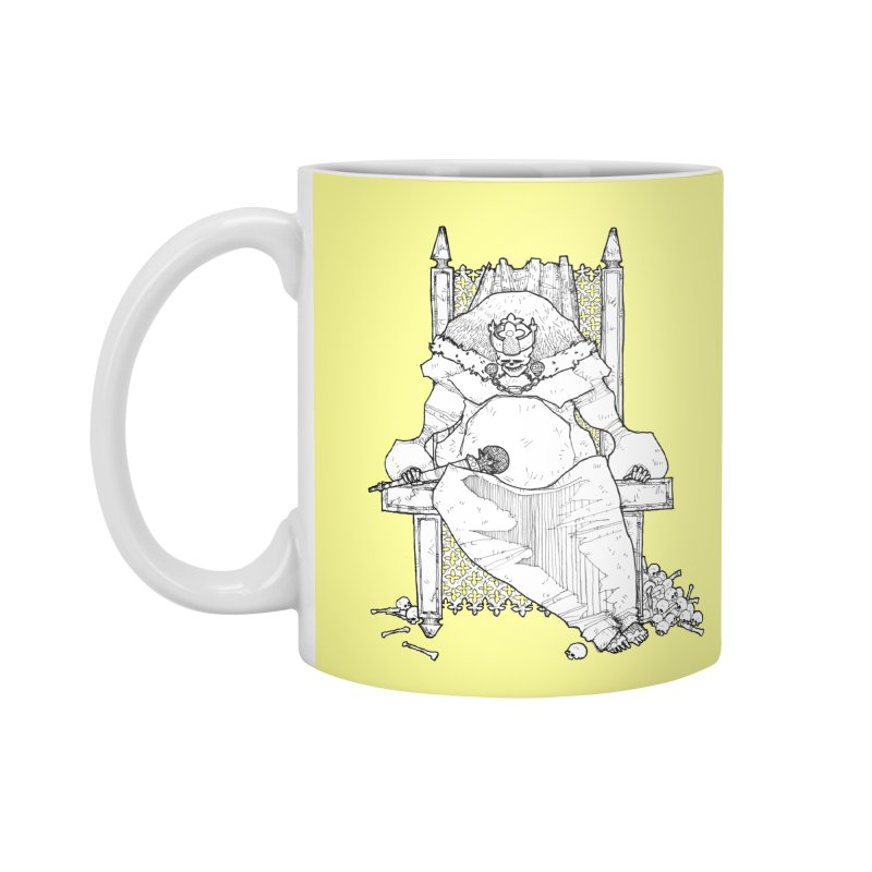 Fat King Accessories Mug by Katiecrimespree's Ye Olde Shirt Shoppe