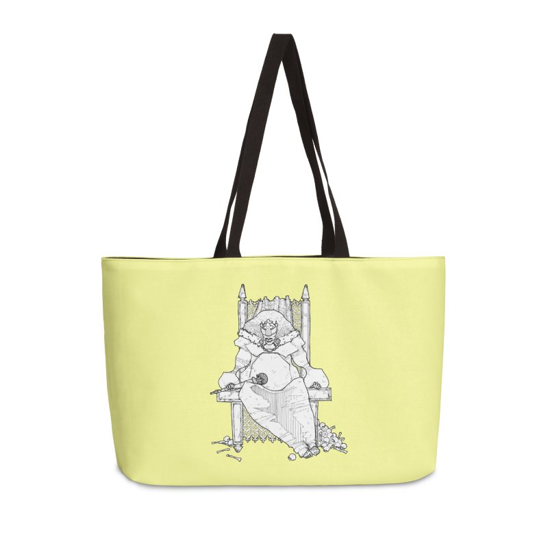 Fat King Accessories Weekender Bag Bag by Katiecrimespree's Ye Olde Shirt Shoppe