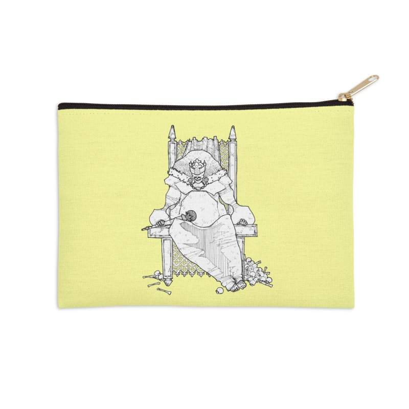 Fat King Accessories Zip Pouch by Katiecrimespree's Ye Olde Shirt Shoppe