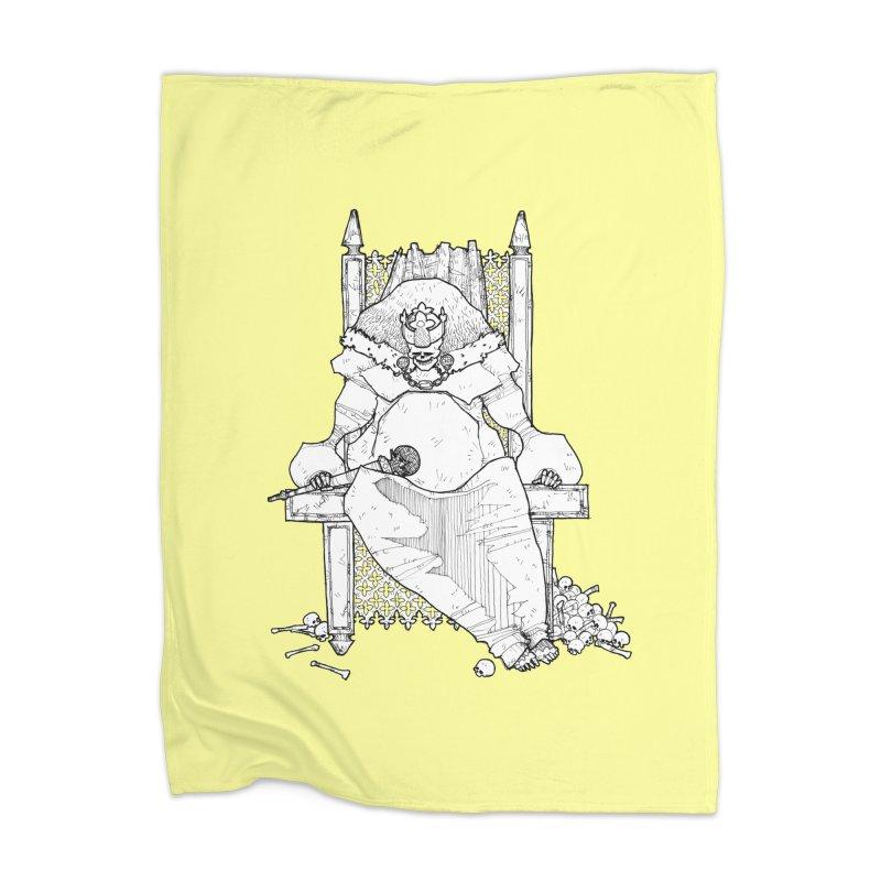 Fat King Home Blanket by Katiecrimespree's Ye Olde Shirt Shoppe