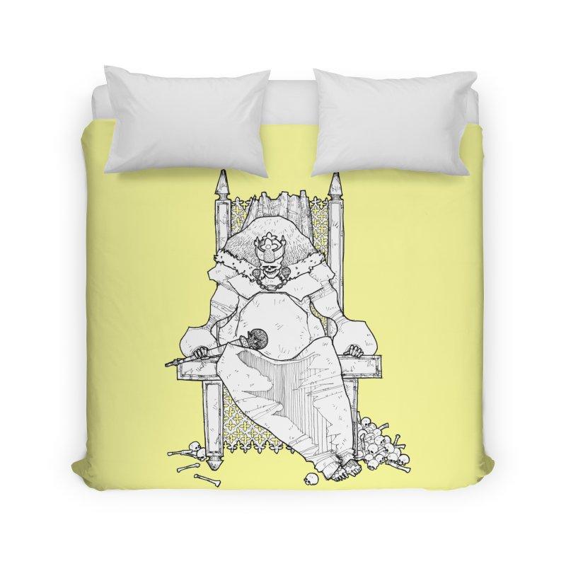 Fat King Home Duvet by Katiecrimespree's Ye Olde Shirt Shoppe