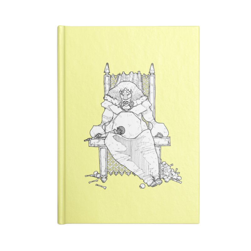 Fat King Accessories Blank Journal Notebook by Katiecrimespree's Ye Olde Shirt Shoppe