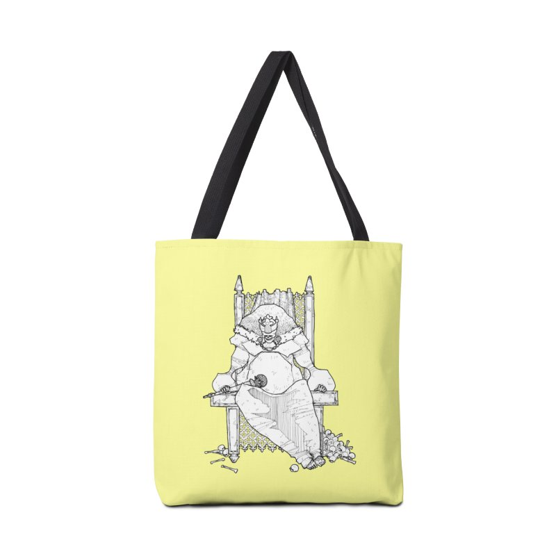 Fat King Accessories Tote Bag Bag by Katiecrimespree's Ye Olde Shirt Shoppe