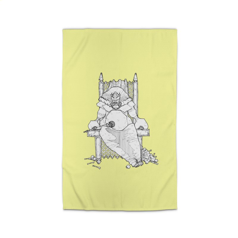 Fat King Home Rug by Katiecrimespree's Ye Olde Shirt Shoppe