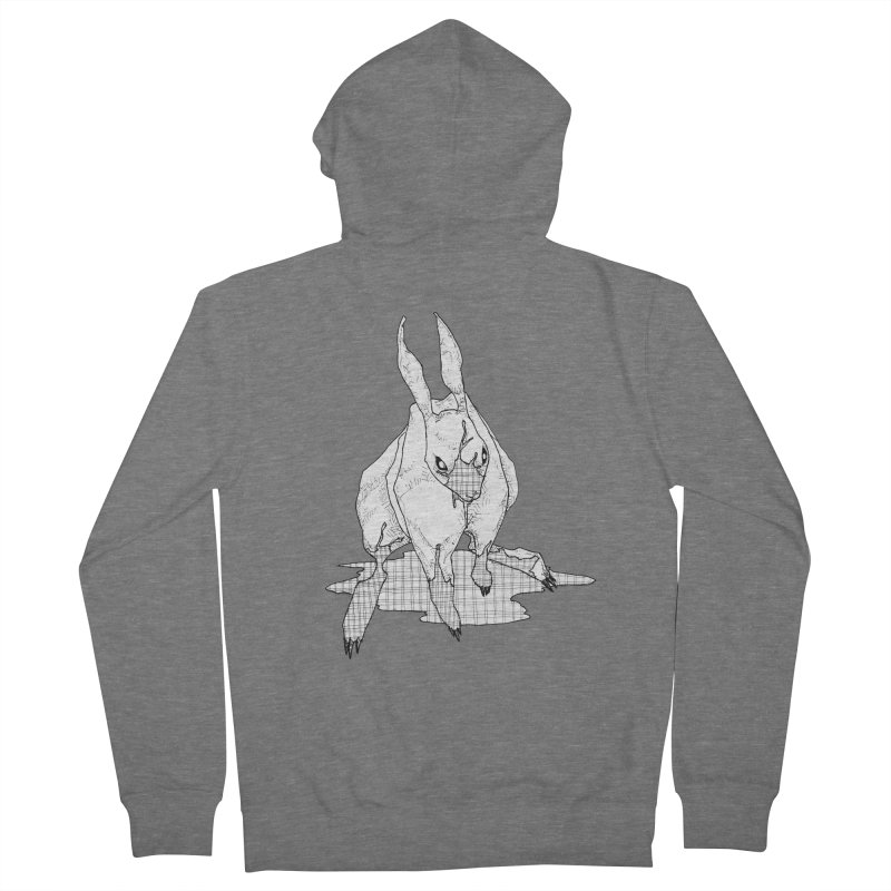 Bunny Hutch Women's Zip-Up Hoody by Katiecrimespree's Ye Olde Shirt Shoppe