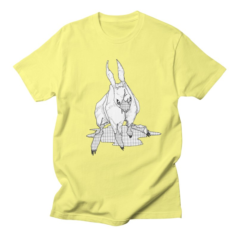 Bunny Hutch Men's Regular T-Shirt by Katiecrimespree's Ye Olde Shirt Shoppe