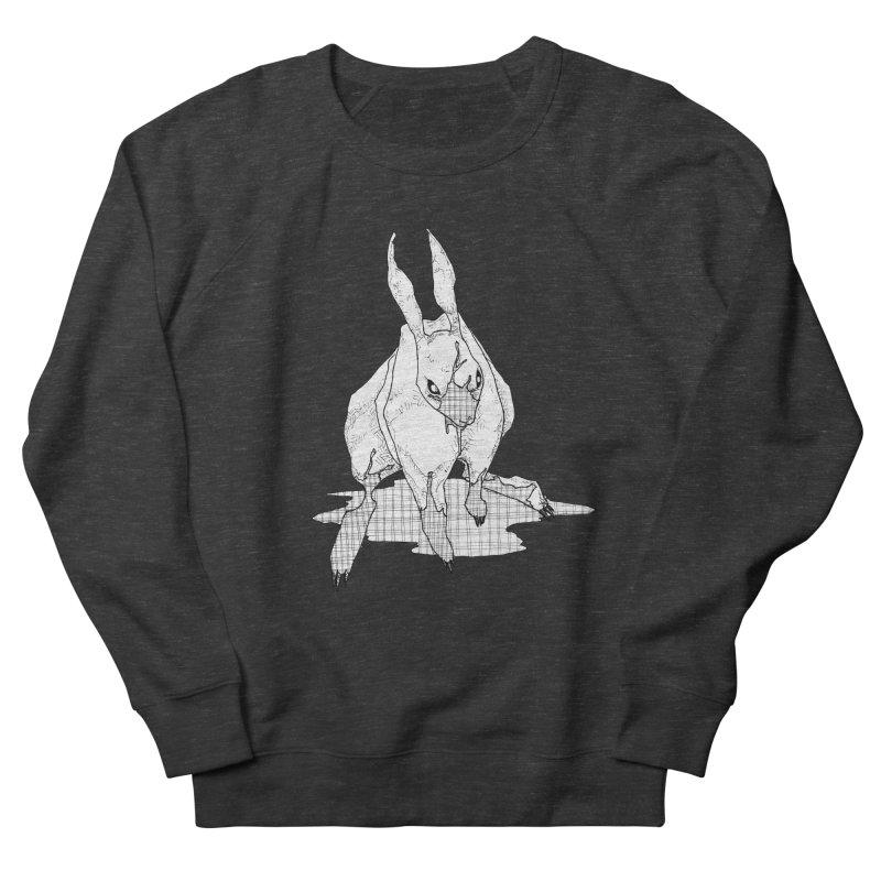 Bunny Hutch Men's French Terry Sweatshirt by Katiecrimespree's Ye Olde Shirt Shoppe