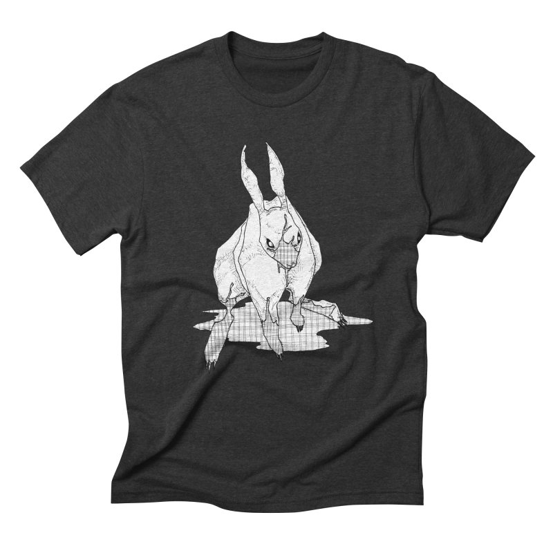 Bunny Hutch Men's Triblend T-Shirt by Katiecrimespree's Ye Olde Shirt Shoppe