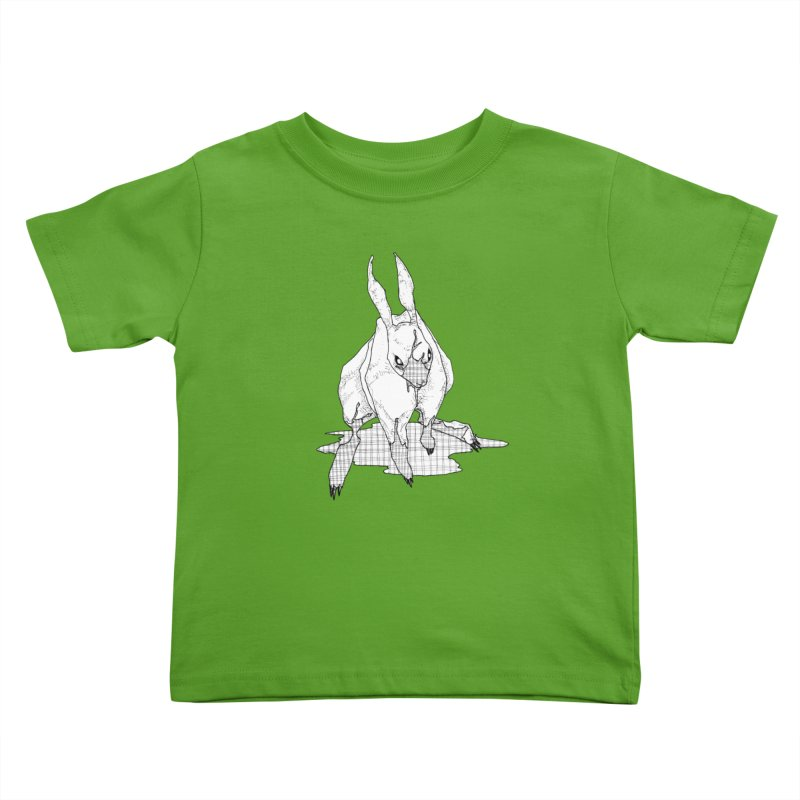 Bunny Hutch Kids Toddler T-Shirt by Katiecrimespree's Ye Olde Shirt Shoppe