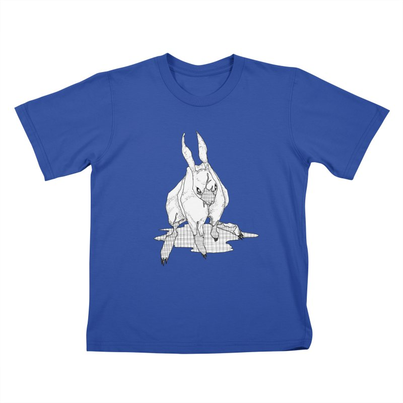 Bunny Hutch Kids T-Shirt by Katiecrimespree's Ye Olde Shirt Shoppe