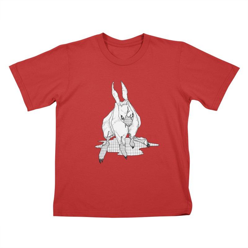 Bunny Hutch Kids T-Shirt by Katiecrimespree's Ye Olde Shirt Shoppe