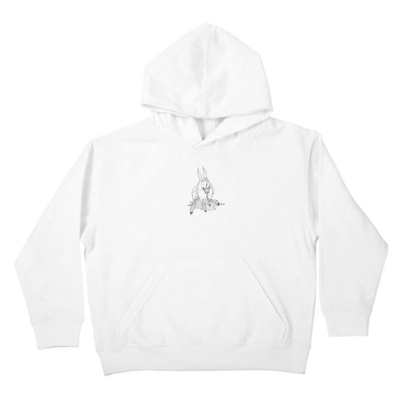 Bunny Hutch Kids Pullover Hoody by Katiecrimespree's Ye Olde Shirt Shoppe