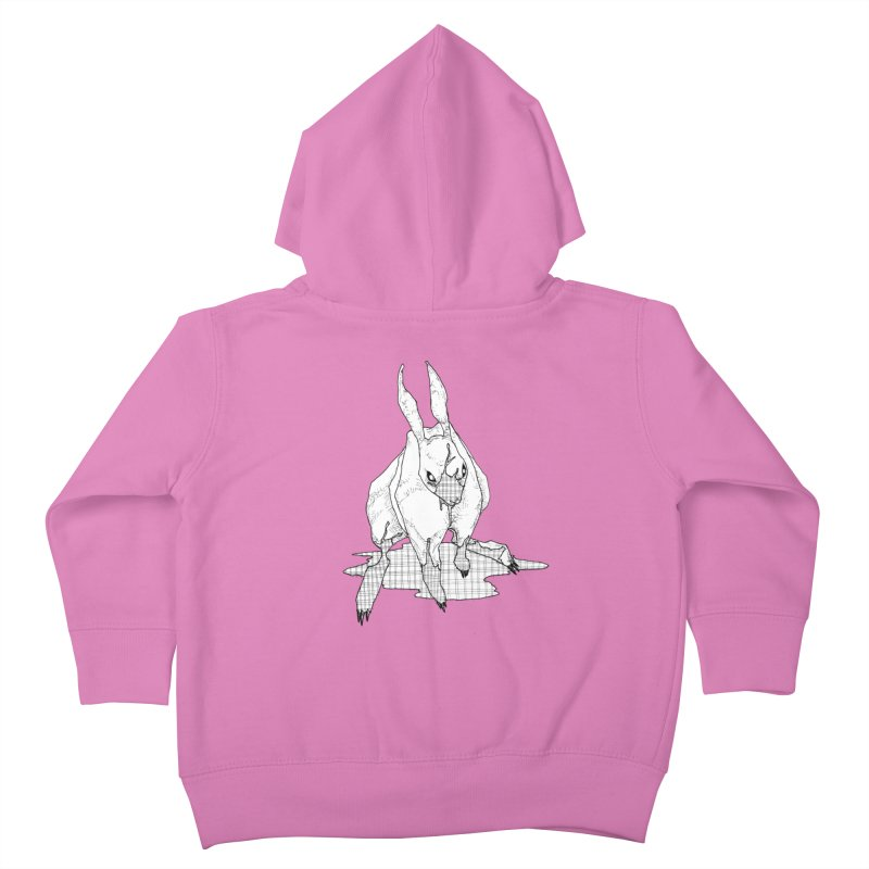 Bunny Hutch Kids Toddler Zip-Up Hoody by Katiecrimespree's Ye Olde Shirt Shoppe