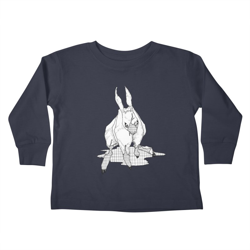 Bunny Hutch Kids Toddler Longsleeve T-Shirt by Katiecrimespree's Ye Olde Shirt Shoppe