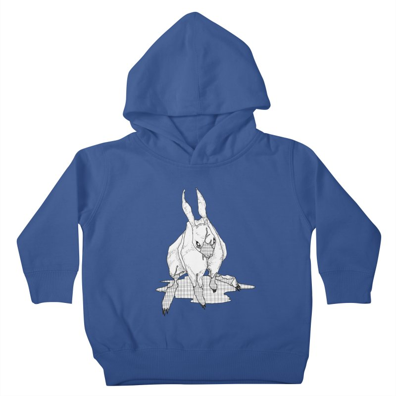 Bunny Hutch Kids Toddler Pullover Hoody by Katiecrimespree's Ye Olde Shirt Shoppe