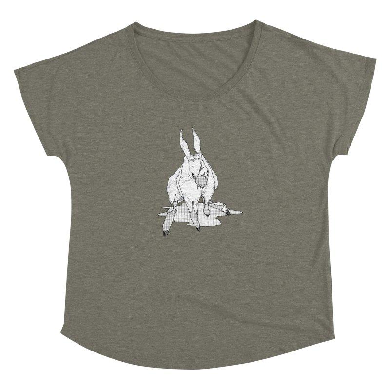 Bunny Hutch Women's Dolman Scoop Neck by Katiecrimespree's Ye Olde Shirt Shoppe