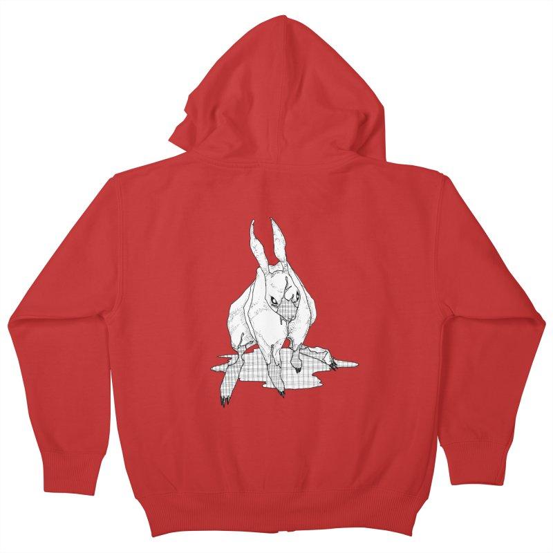Bunny Hutch Kids Zip-Up Hoody by Katiecrimespree's Ye Olde Shirt Shoppe