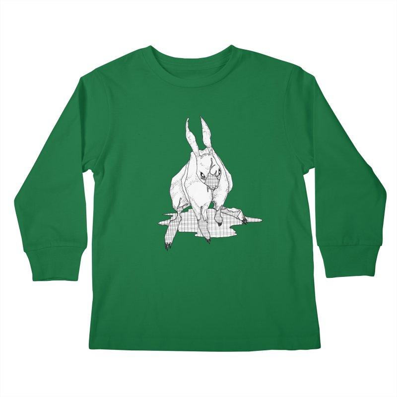 Bunny Hutch Kids Longsleeve T-Shirt by Katiecrimespree's Ye Olde Shirt Shoppe