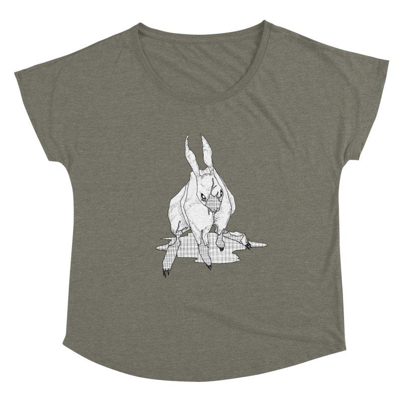 Bunny Hutch Women's Scoop Neck by Katiecrimespree's Ye Olde Shirt Shoppe
