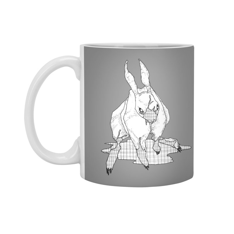 Bunny Hutch Accessories Mug by Katiecrimespree's Ye Olde Shirt Shoppe