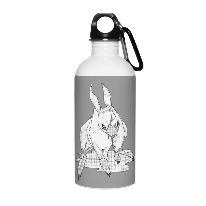 Bunny Hutch Accessories Water Bottle by Katiecrimespree's Ye Olde Shirt Shoppe