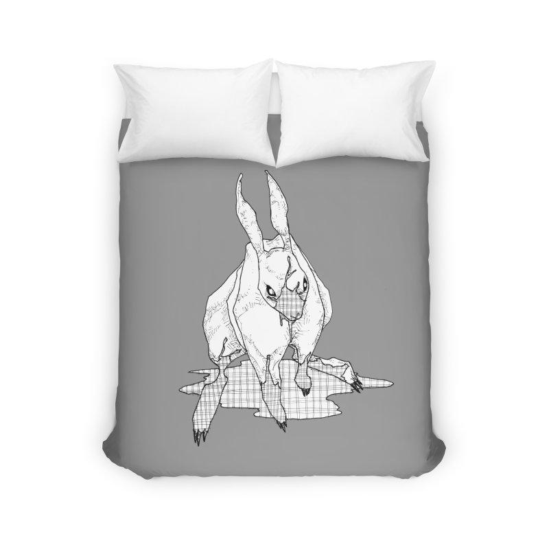 Bunny Hutch Home Duvet by Katiecrimespree's Ye Olde Shirt Shoppe