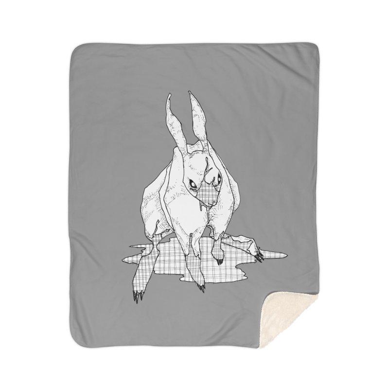 Bunny Hutch Home Sherpa Blanket Blanket by Katiecrimespree's Ye Olde Shirt Shoppe