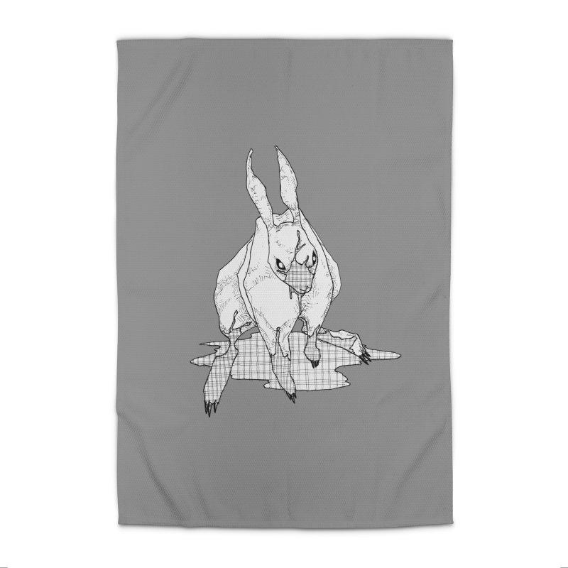 Bunny Hutch Home Rug by Katiecrimespree's Ye Olde Shirt Shoppe