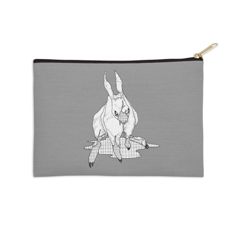 Bunny Hutch Accessories Zip Pouch by Katiecrimespree's Ye Olde Shirt Shoppe