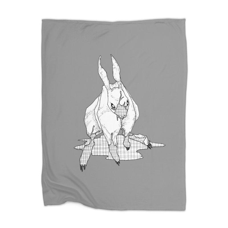 Bunny Hutch Home Blanket by Katiecrimespree's Ye Olde Shirt Shoppe
