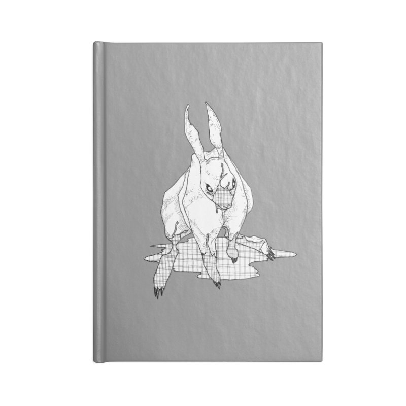Bunny Hutch Accessories Lined Journal Notebook by Katiecrimespree's Ye Olde Shirt Shoppe