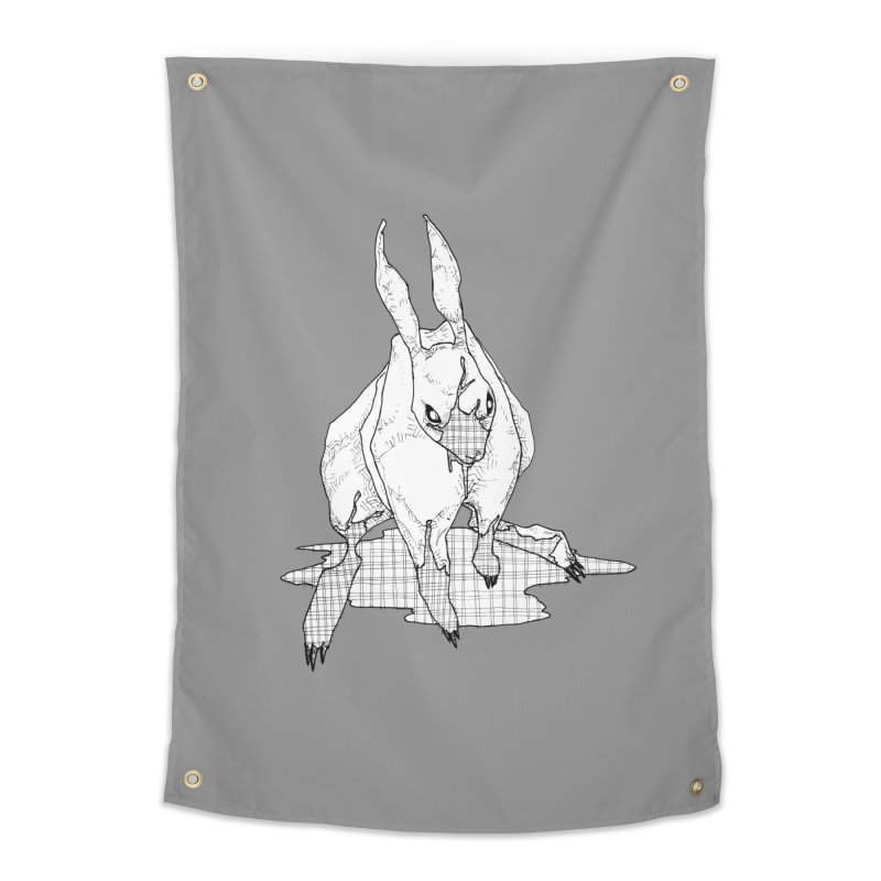 Bunny Hutch Home Tapestry by Katiecrimespree's Ye Olde Shirt Shoppe