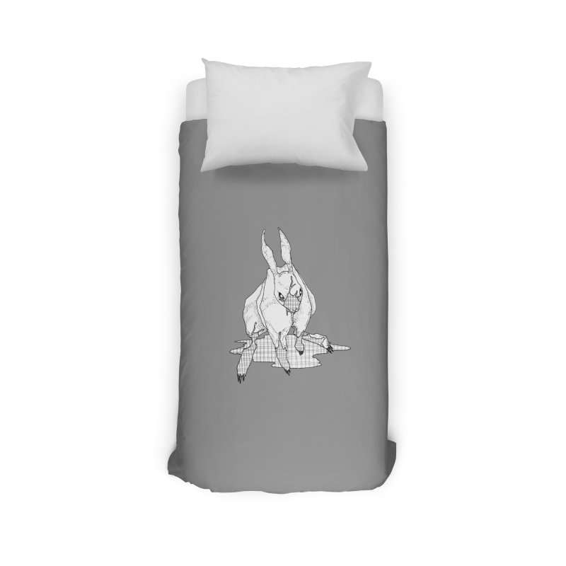 Bunny Hutch Home Duvet by Katiecrimespree's Ye Olde Shirt Shoppe