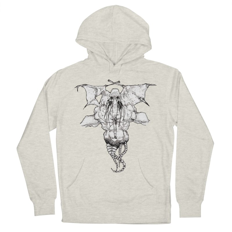 The Memory of an Elephant Men's French Terry Pullover Hoody by Katiecrimespree's Ye Olde Shirt Shoppe