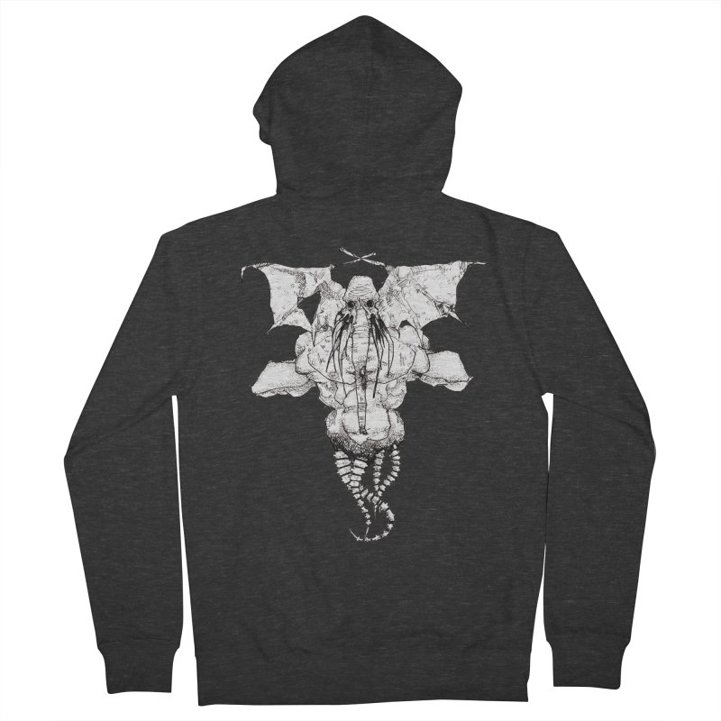 The Memory of an Elephant Men's Zip-Up Hoody by Katiecrimespree's Ye Olde Shirt Shoppe