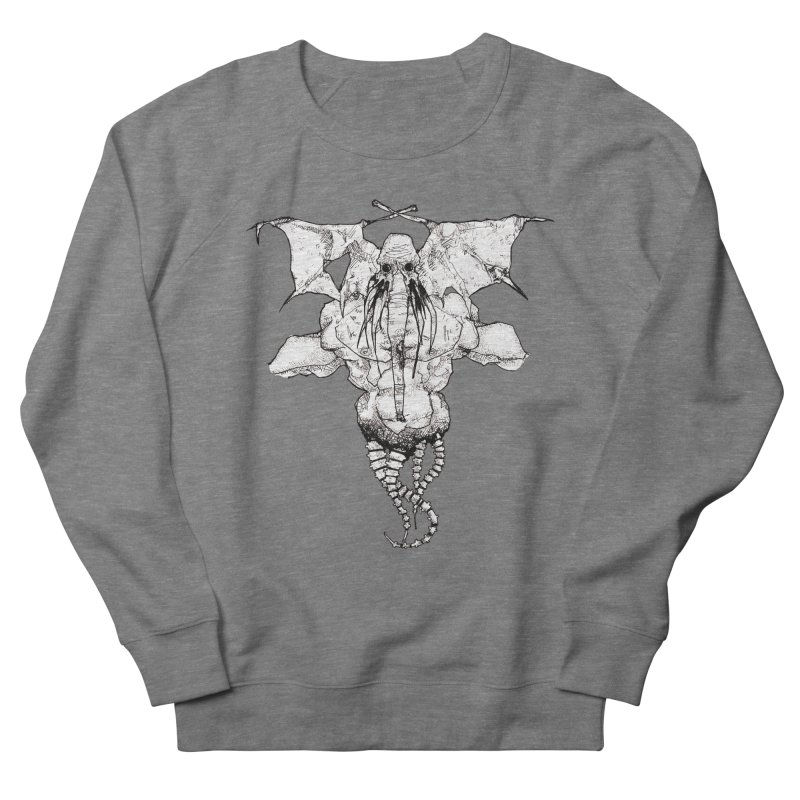 The Memory of an Elephant Women's French Terry Sweatshirt by Katiecrimespree's Ye Olde Shirt Shoppe