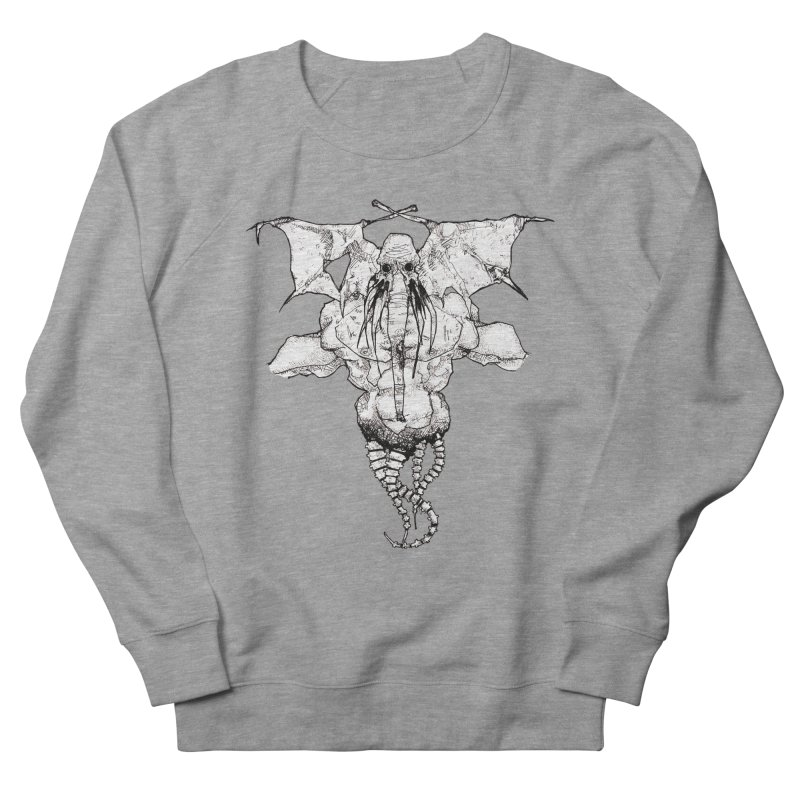 The Memory of an Elephant Men's French Terry Sweatshirt by Katiecrimespree's Ye Olde Shirt Shoppe
