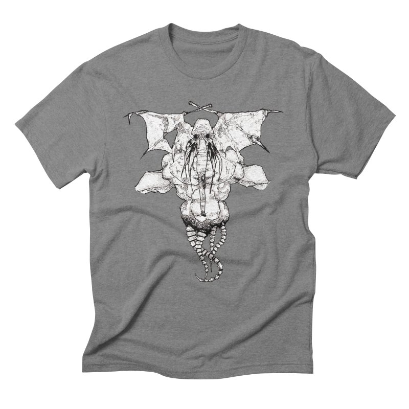 The Memory of an Elephant Men's Triblend T-Shirt by Katiecrimespree's Ye Olde Shirt Shoppe