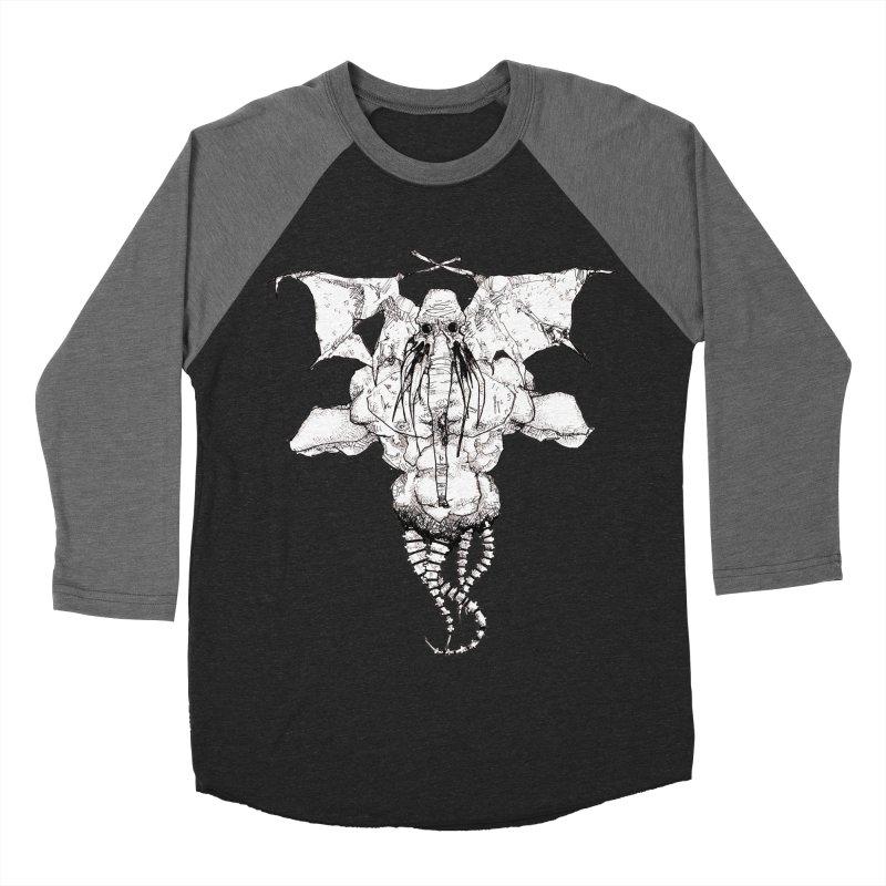 The Memory of an Elephant Women's Baseball Triblend Longsleeve T-Shirt by Katiecrimespree's Ye Olde Shirt Shoppe