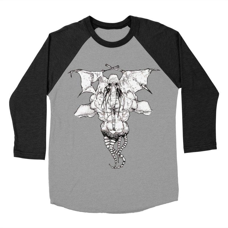 The Memory of an Elephant Men's Baseball Triblend T-Shirt by Katiecrimespree's Ye Olde Shirt Shoppe