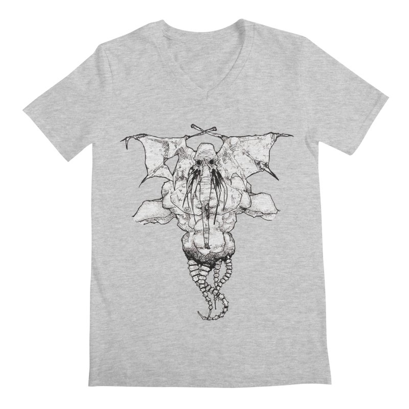 The Memory of an Elephant Men's V-Neck by Katiecrimespree's Ye Olde Shirt Shoppe
