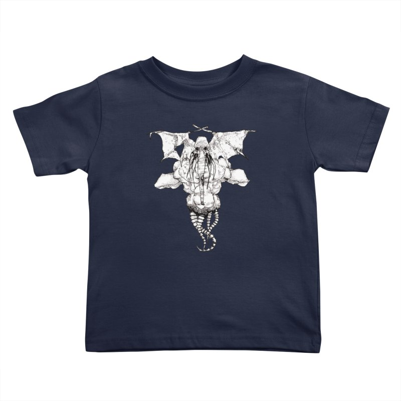 The Memory of an Elephant Kids Toddler T-Shirt by Katiecrimespree's Ye Olde Shirt Shoppe