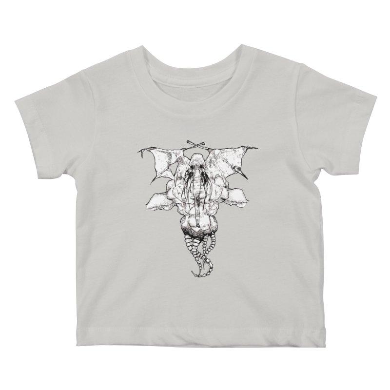 The Memory of an Elephant Kids Baby T-Shirt by Katiecrimespree's Ye Olde Shirt Shoppe