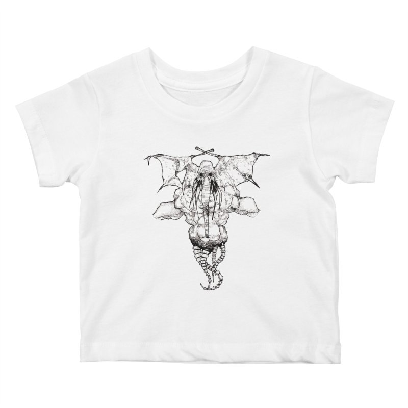 The Memory of an Elephant Kids Baby T-Shirt by Katiecrimespree's Ye Olde Shirt Shoppe