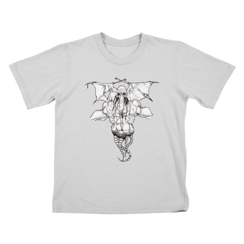 The Memory of an Elephant Kids T-Shirt by Katiecrimespree's Ye Olde Shirt Shoppe