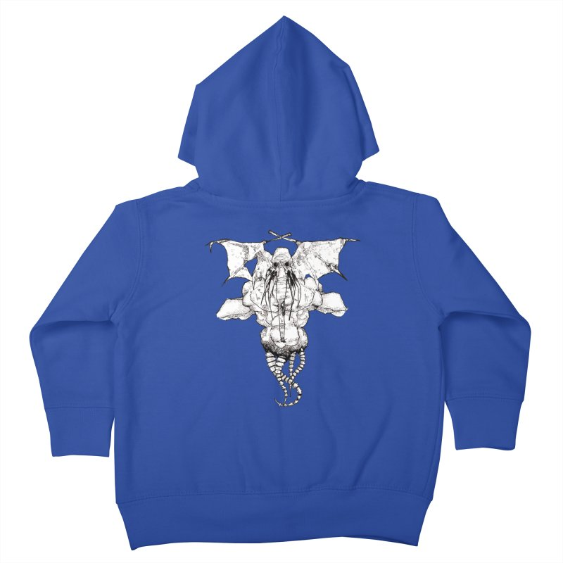 The Memory of an Elephant Kids Toddler Zip-Up Hoody by Katiecrimespree's Ye Olde Shirt Shoppe