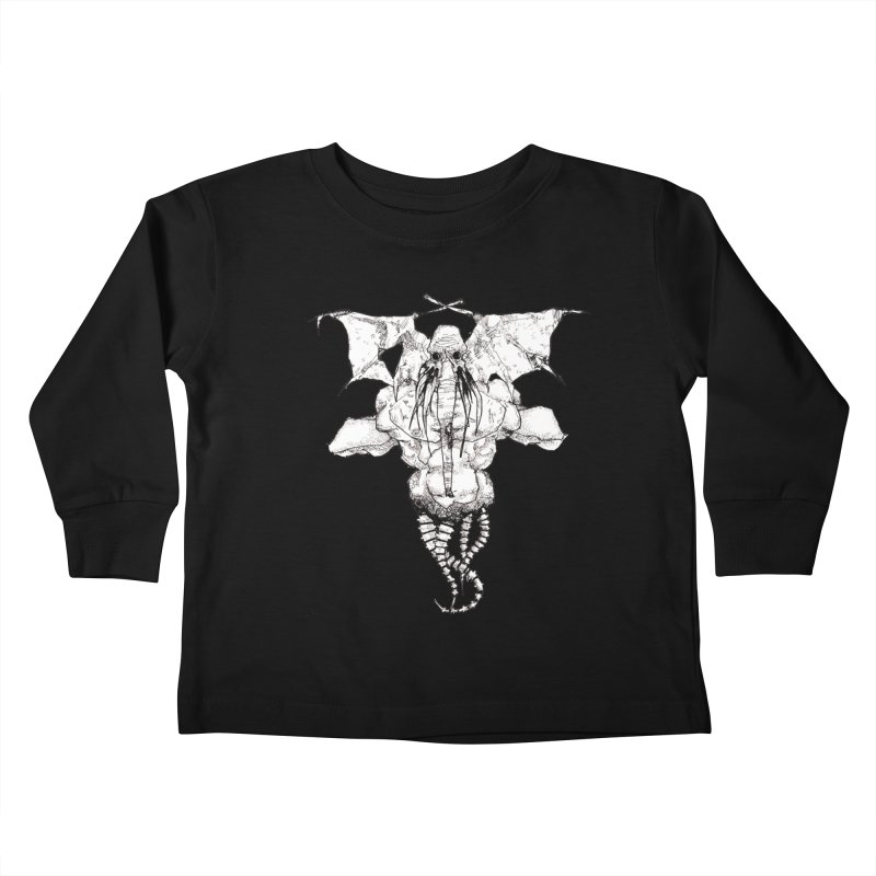 The Memory of an Elephant Kids Toddler Longsleeve T-Shirt by Katiecrimespree's Ye Olde Shirt Shoppe