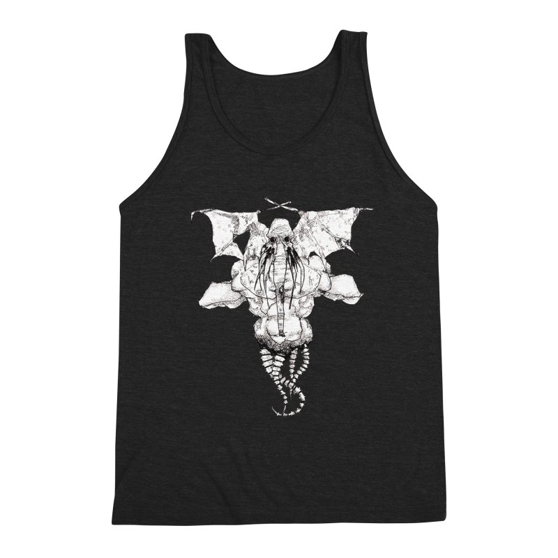 The Memory of an Elephant Men's Triblend Tank by Katiecrimespree's Ye Olde Shirt Shoppe
