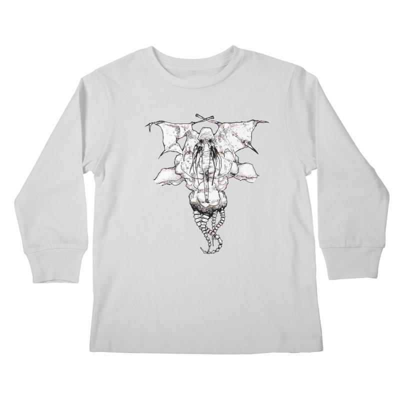 The Memory of an Elephant Kids Longsleeve T-Shirt by Katiecrimespree's Ye Olde Shirt Shoppe